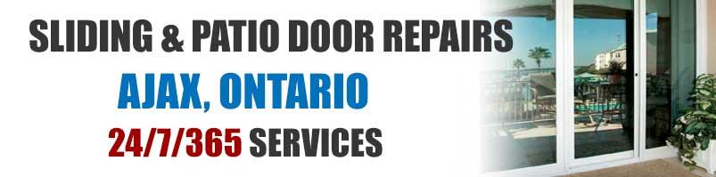 Sliding glass patio door repair services