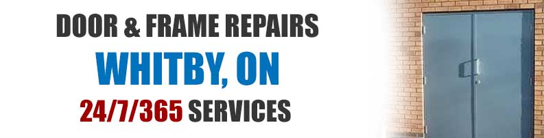 Whitby door frame repair services